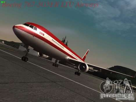 Boeing 767-3G5ER LTU Airways для GTA San Andreas