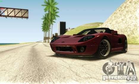Ford GTX1 Roadster V1.0 для GTA San Andreas вид сверху