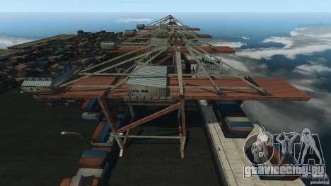Tokyo Docks Drift для GTA 4 третий скриншот