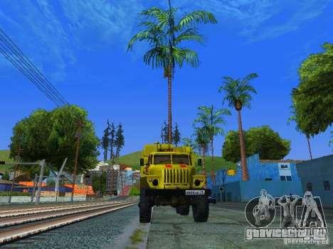 Урал 4320 ГОРСВЕТ для GTA San Andreas вид слева
