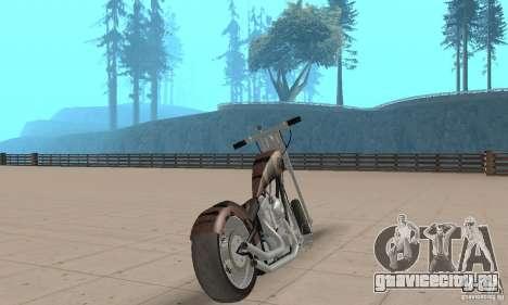 Desperado Chopper для GTA San Andreas вид слева