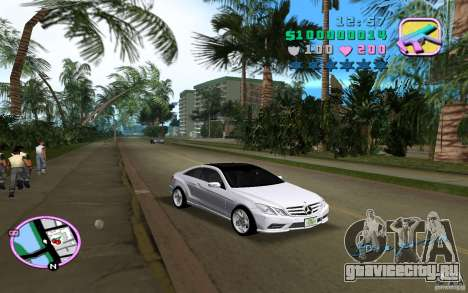 Mercedes-Benz E Class Coupe C207 для GTA Vice City