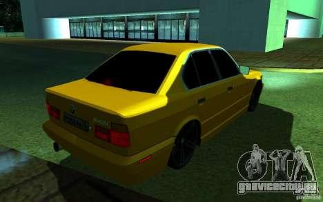 BMW 540i для GTA San Andreas вид справа