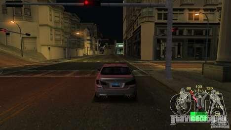 Спидометр ВАЗ 2110 для GTA San Andreas