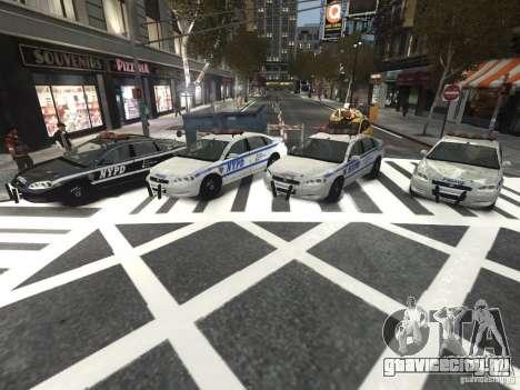Chevrolet Impala 2006 NYPD Traffic для GTA 4 вид изнутри