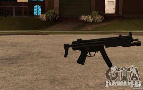Новая MP5 с фонариком для GTA San Andreas второй скриншот
