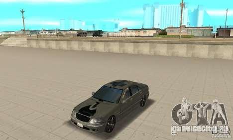 Mercedes Benz AMG S65 DUB для GTA San Andreas
