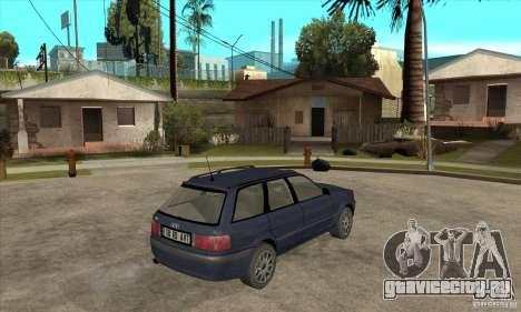 Audi 80 B4 Avant для GTA San Andreas вид справа