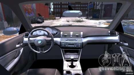 BMW M3 E46 Tuning 2001 для GTA 4 вид справа