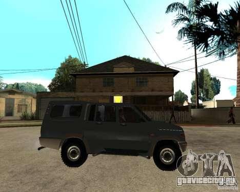 УАЗ Симбир Пикап для GTA San Andreas вид справа