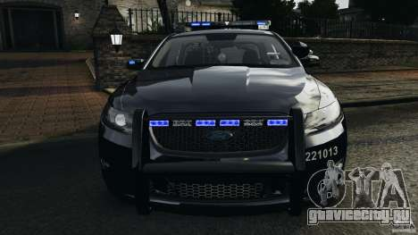 Ford Taurus 2010 Atlanta Police [ELS] для GTA 4 вид сверху