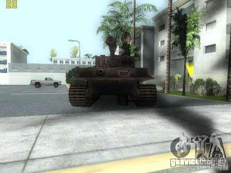 Tiger для GTA San Andreas вид слева
