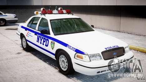 Ford Crown Victoria NYPD для GTA 4 двигатель