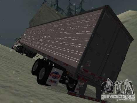 Прицеп Рефрежератор для GTA San Andreas вид сзади слева