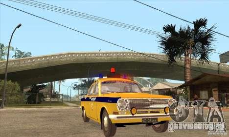 ГАЗ Волга 2401 Милиция для GTA San Andreas