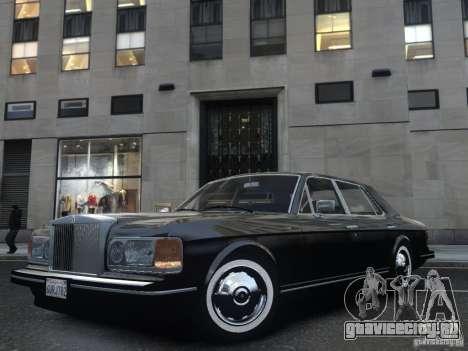 Rolls-Royce Silver Spirit 1990 для GTA 4 вид сбоку
