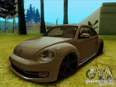 Volkswagen New Bettle 2013 Edit для GTA San Andreas вид слева