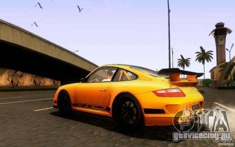 Porsche 911 GT3 RS для GTA San Andreas вид сбоку