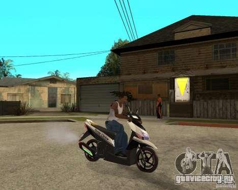 Honda Click для GTA San Andreas вид справа