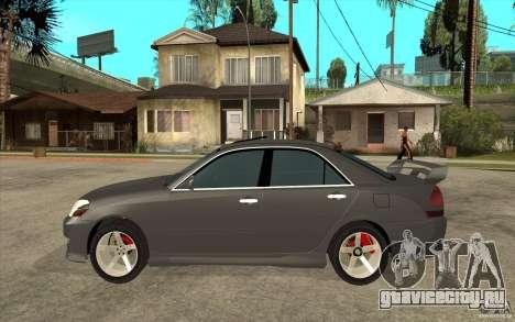 TOYOTA MARK II RY для GTA San Andreas вид слева
