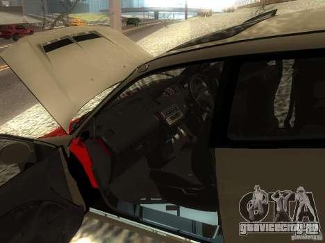 Honda Civic EG6 JDM для GTA San Andreas вид изнутри