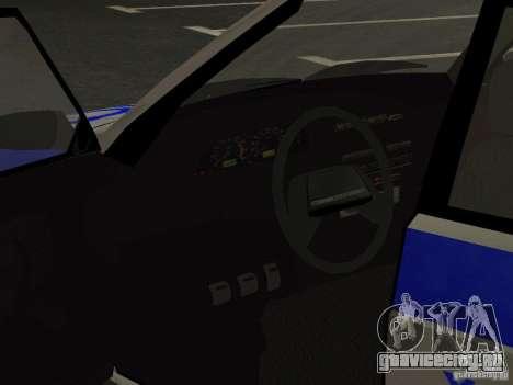ВАЗ 2114 Полиция для GTA San Andreas вид сбоку