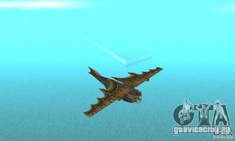 Очень красивый самолет из TimeShift для GTA San Andreas
