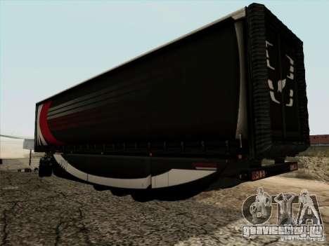 Aero Dynamic Trailer для GTA San Andreas вид слева