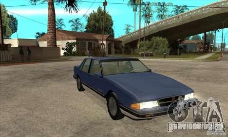 Pontiac Bonneville 1989 для GTA San Andreas вид сзади