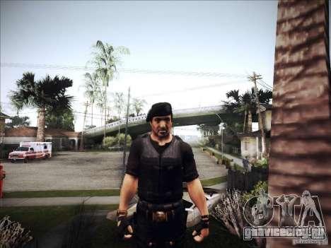 Неудержимые для GTA San Andreas четвёртый скриншот
