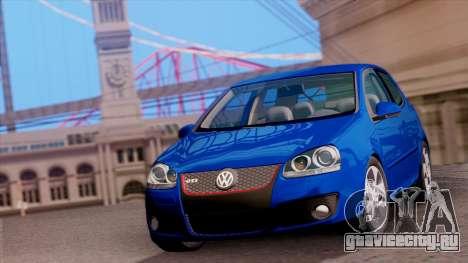 VW Golf V GTI 2006 для GTA San Andreas