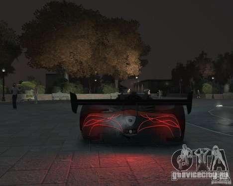 Mazda Furai для GTA 4 вид справа