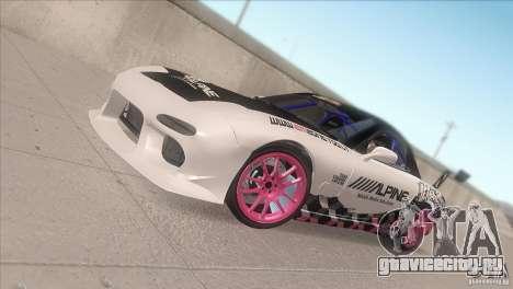 Mazda RX-7 FD K.Terej для GTA San Andreas вид сбоку