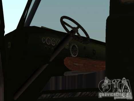 Uaz Monster для GTA San Andreas вид сзади