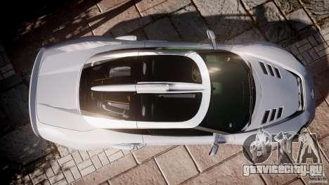 Spyker C8 Aileron v1.0 для GTA 4 вид сзади