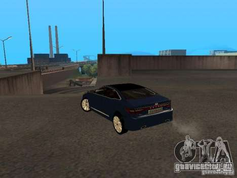 Hyundai Azera 2012 для GTA San Andreas вид слева