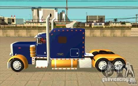 Peterbilt 359 Custom для GTA San Andreas вид слева