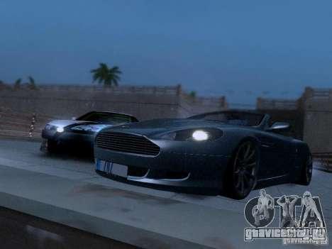 Aston Martin DB9 Volante 2006 для GTA San Andreas вид справа