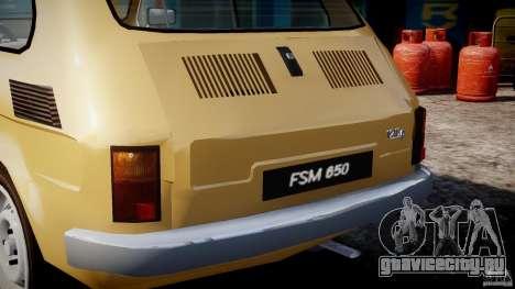 Fiat 126p 1976 для GTA 4 колёса