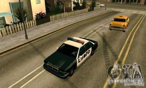 Шипы на дороге для GTA San Andreas четвёртый скриншот