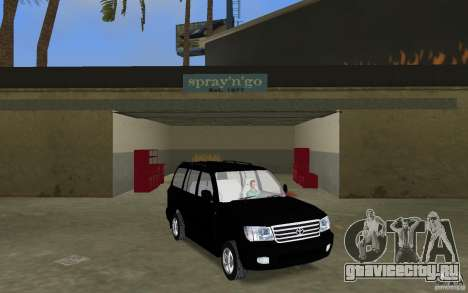 Toyota Land Cruiser 100 VX V8 для GTA Vice City