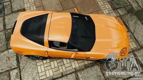 Chevrolet Corvette C6 Grand Sport 2010 для GTA 4 вид справа