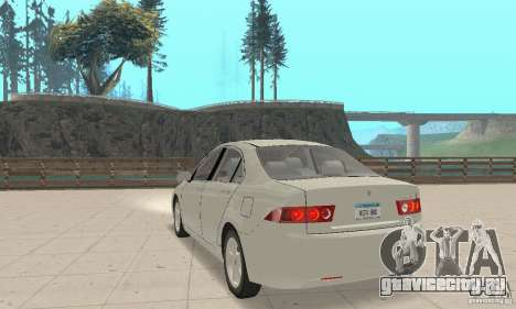 Honda Accord Comfort 2003 для GTA San Andreas вид слева
