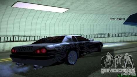 Elegy by LeM для GTA San Andreas вид справа