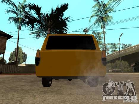 AZLK 427 LT для GTA San Andreas вид сзади слева