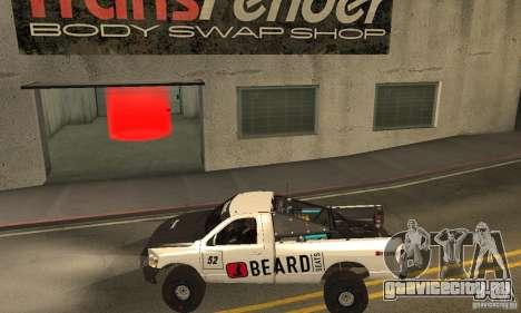 Dodge Power Wagon Paintjobs Pack 2 для GTA San Andreas вид слева