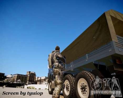 Modern Warfare 2 Soap для GTA 4 третий скриншот