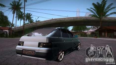 ВАЗ 2112 LT для GTA San Andreas вид справа
