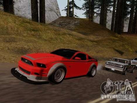 Ford Mustang RTR Spec 3 для GTA San Andreas вид справа