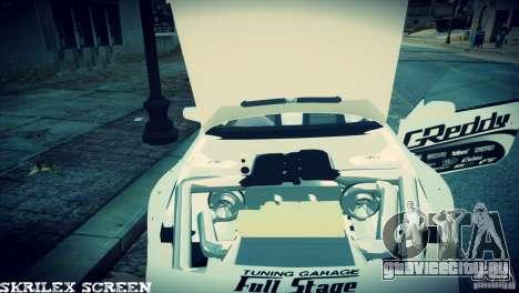 Nissan 380sx BenSpora для GTA 4 вид изнутри